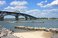 Coleman Memorial Bridge Royalty Free Stock Photo