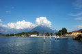 Colico , Como lake Royalty Free Stock Photo