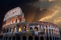 The Coliseum of Ancient Rome Stock Photography