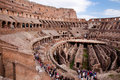 Coliseum - Inside view -  Roma - Italy Stock Images