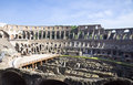 Coliseum of rome inside the italy Royalty Free Stock Image