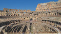Coliseum of rome inside view the Royalty Free Stock Photos