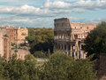 The Coliseum - Rome, Italy Royalty Free Stock Photo