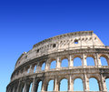Coliseum rome italy ancient colosseum summer day Royalty Free Stock Photography