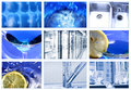 Collage Stockbild