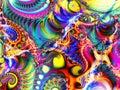 Collage de Digitals d'art abstrait Photographie stock libre de droits