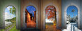 Collage Four Seasons - II