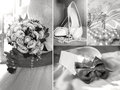 A collage of wedding photos, fashion, beauty