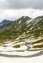 Colle dell agnello french alps hautes alpes provence alpes cote d azur france mountain landscape at summer Royalty Free Stock Photo