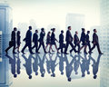 Colleague Business Corporate Office Urban Scene Team Concept Royalty Free Stock Photo