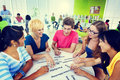 Colleagues diverse student teamwork coworker concept Royalty Free Stock Images