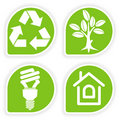 Collect Environment Sticker Stock Photo
