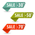Collect Sale Signs Stock Photos