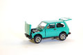 Collectible car model soviet niva lada Royalty Free Stock Photos