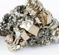 Collectible pyrrhotite specimen Royalty Free Stock Photo