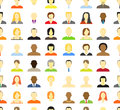 Collection of an account icons Stock Photography