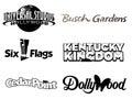 Collection of Amusement Parks Logo