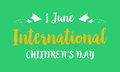 Collection background childrens day style