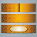 Collection banner design, Asian art background. Royalty Free Stock Photo