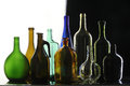 Collection bottles Royalty Free Stock Photo
