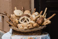 Collection of breads Royalty Free Stock Photo