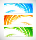 Collection of bright banners Royalty Free Stock Image