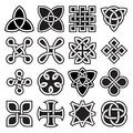 Collection of Celtic Knot Designs in Vector Format