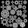 Collection of Celtic, 30 patterns, a set of vectors.