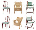Collection of chairs Royalty Free Stock Photo