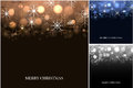 Collection of Christmas backgrounds. New Year