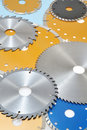 Collection of circular saw blades