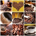 Collection of Coffee. Royalty Free Stock Photos