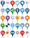 Collection of Colorful Social Media Icons [1]