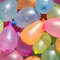 Collection of Colorful Water Balloons Royalty Free Stock Photo