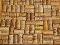 A collection of corks from wine bottles czech republic Stock Image
