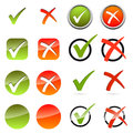 Collection - cross + hook Royalty Free Stock Photo