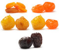 A collection of different dried fruit Stock Image