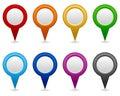 GPS and Navigation Blank Icons