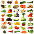 Collection of fresh and colorful vegetables Stock Image
