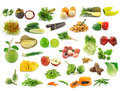 Collection of fruits and vegetables Royalty Free Stock Photography
