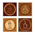 Collection of gift cards/tags Royalty Free Stock Image