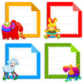 Collection of greeting cards for kids