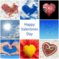 Collection of hearts Royalty Free Stock Photo