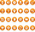 Collection of Icons Royalty Free Stock Image