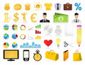 Collection of icons2 Royalty Free Stock Image
