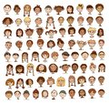 Collection of kids' faces