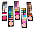 Collection of make up sets Royalty Free Stock Image