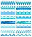 Collection Of Marine Waves, St...