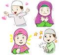 Collection of Muslim Kids Cartoon
