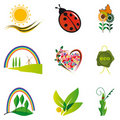 A collection of natural elements Stock Photo